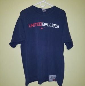 Vintage Nike United Ballers Basketball Tee Shirt